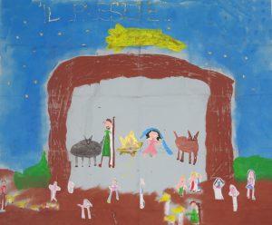 """Scuola dell'infanzia """"Giovanni XXIII"""" - Rapone (Pz)Categoria: 5-7 anni - Disegno di gruppo"""