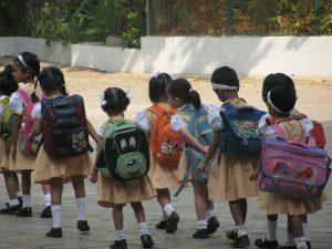 scuola materna Canossiane                Mahim Mumbai