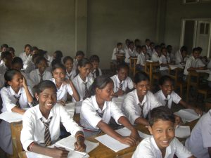 Bambini scuola Rangajan