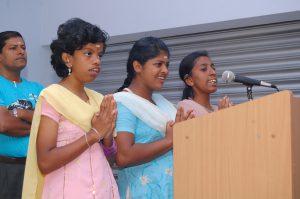 Ospiti centro Snehadeepthi