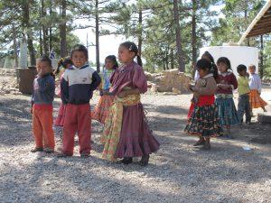 Bambini Sierra Tarahumara